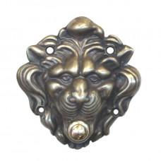 Campanello a pulsante porta a muro Leone Grande. CFI-562