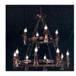 Lampadari e illuminazione Linea ferro battuto Serie CFI-680