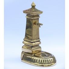 Fermacarte in ottone fontanella MILANO. 1005/FC