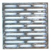 Griglia ghisa focolare ceneriera e stufa a legna cm 24x24. GRICAM24x24/MNZ