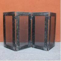 Parafuoco o barriera protettiva in ferro per caminetto e stufa. HOME CFI-3055/1