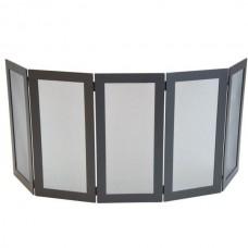 Parascintille per camino in ferro con pannelli pieghevoli. STOVE CP-CFI505