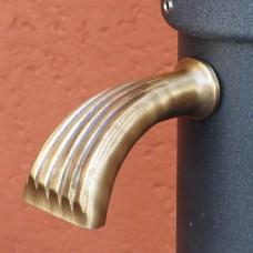 Rubinetto spatola ottone fontane erogazione continua. 13144/2