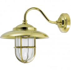 Applique da parete per interno ed esterno in ottone. 0751-2323