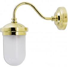 Lanterna o lampada da parete in ottone. 0751-2326