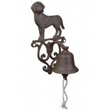 Campanella cane in ghisa per casa e giardino. DB-CFI83