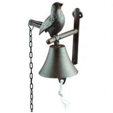 Campanella Ingresso ghisa Uccellino. DB86