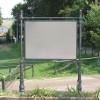 Porta manifesti pubblicitario o stendardo arredo urbano. 6051/150x110
