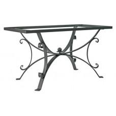 Base tavolo ferro rettangolare. T316