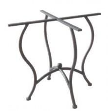 Base tavolo da bar, terrazzo, cucina e giardino in ferro battuto. Modello Aiace