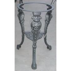 Base tavolo artistico in ghisa 3 piedi Cod. DSC06871.