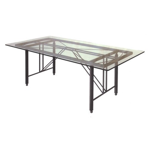 Base tavolo da giardino terrazzo e cucina in ferro battuto modello clessidra - Tavolo in ferro battuto da giardino ...