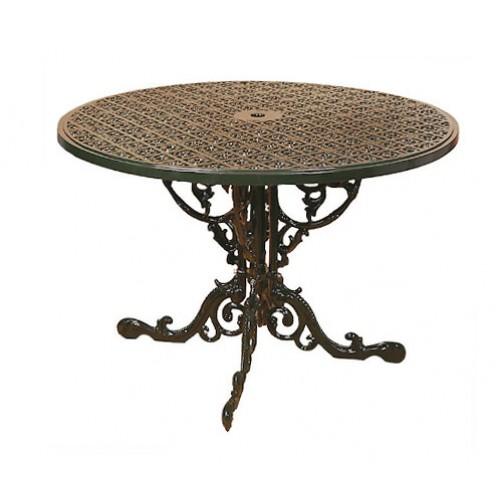 Base Tavolo portico,terrazzo,giardino in fusione di alluminio. INGLESE