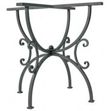Base tavolo da giardino, terrazzo e cucina in ferro battuto. T315/T