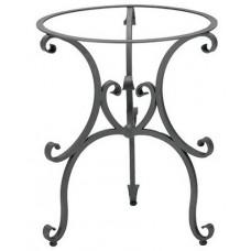 Base tavolo da giardino, terrazzo e cucina in ferro battuto. TS405