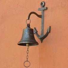 Campanella da ingresso Ancora in ottone. Art. CFI-220.00/B
