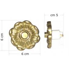 Campanello portone a bottone a parete Fiore. CFI-DONG2