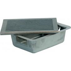Cassetto portacenere per focolare completo di griglia. 15020-19x24
