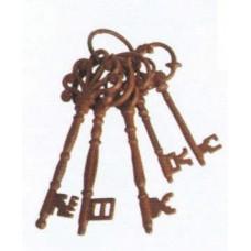 Chiavi decorative in ghisa Art. DB63