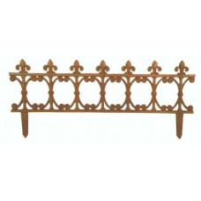Bordure aiuole o recinzione di protezione giardino in ghisa. PS21