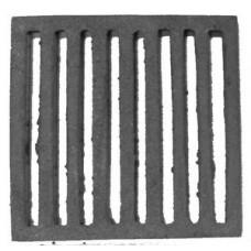 Griglia in Ghisa per Ceneriere Camino cm 18x18