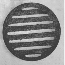 Griglia in Ghisa per Ceneriere Camino diametro cm 15