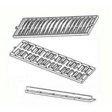 Griglie Rettilinee Modulari In Ghisa Sferoidale Classe C250 Trattate con Vernice Bituminosa