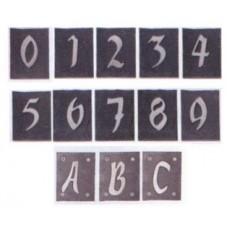 Numeri civici e targhe portanumero in Ardesia