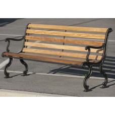 Panchina Giardino Piemonte legno esotico 4013