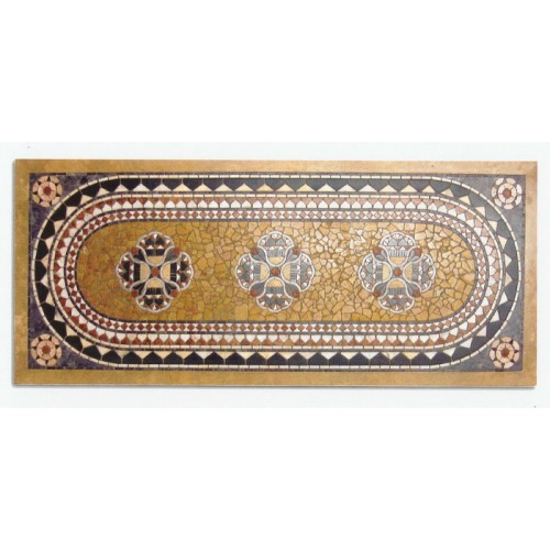 Tavoli Mosaico Per Esterno.Piano Mosaico Rettangolare Tavolo Giardino Casa Rt 6