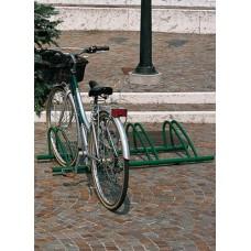 Porta biciclette arredo urbano Bis 4 posti flangiato. 150410/150411