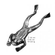 Ranocchia stesa in ferro Art. CFI53392000