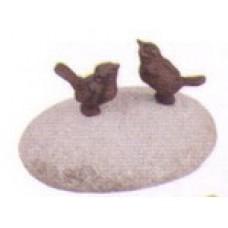 Sasso Coppia Uccellini. TT169