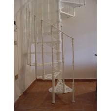 Scala chiocciola ghisa-alluminio Ravenna