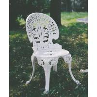 Sedia giardino, casa in alluminio. Pavone Reale