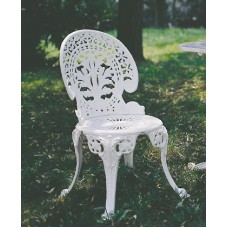 Sedia giardino in alluminio. Pavone Reale