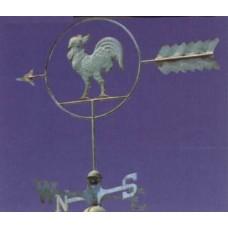 Segnavento Gallo nel Cerchio Art.5079/1