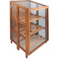 Serra da terrazzo in legno e vetro. GTCFI34