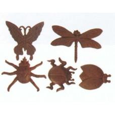 Set 6 forme insetti assortite Art. TT174