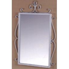 Specchio in ferro battuto. CFI-3005