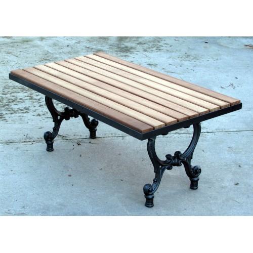 Tavoli In Ghisa Da Giardino.Base Tavolo Da Giardino Terrazzo E Cucina In Ghisa Con Piano In Legno