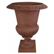 Vaso esterno in ghisa per giardino,portico, terrazzo. XHCFI67-AR Ø cm 52