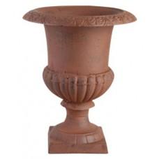 Vaso esterno in ghisa per veranda, terrazzo, giardino. XHCFI62-AR Ø cm 23