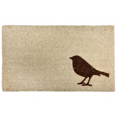 Zerbino o Pulisciscarpe in cocco Uccellino  Art. RB155  SABBIA