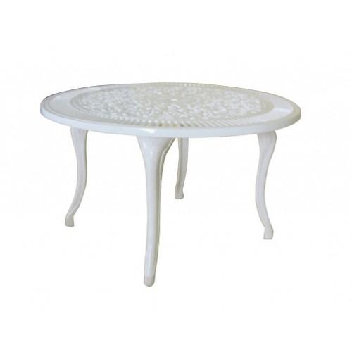 Tavolino alluminio da salotto giardino terrazzo for Salotto per terrazzo