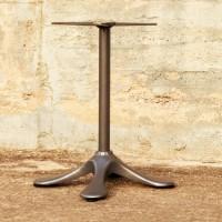 Base Tavolo interno/esterno in fusione di alluminio. PRAGA