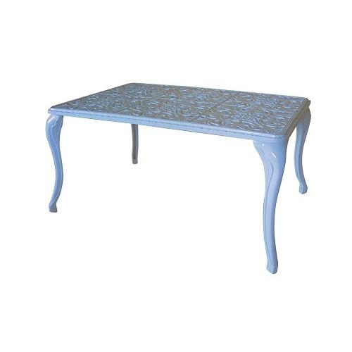 Tavolino alluminio da salotto giardino terrazzo for Salotto da terrazzo
