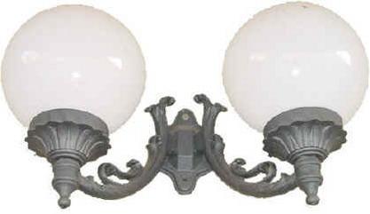 Lampade per esterno a sfera illuminazione da giardino a palla