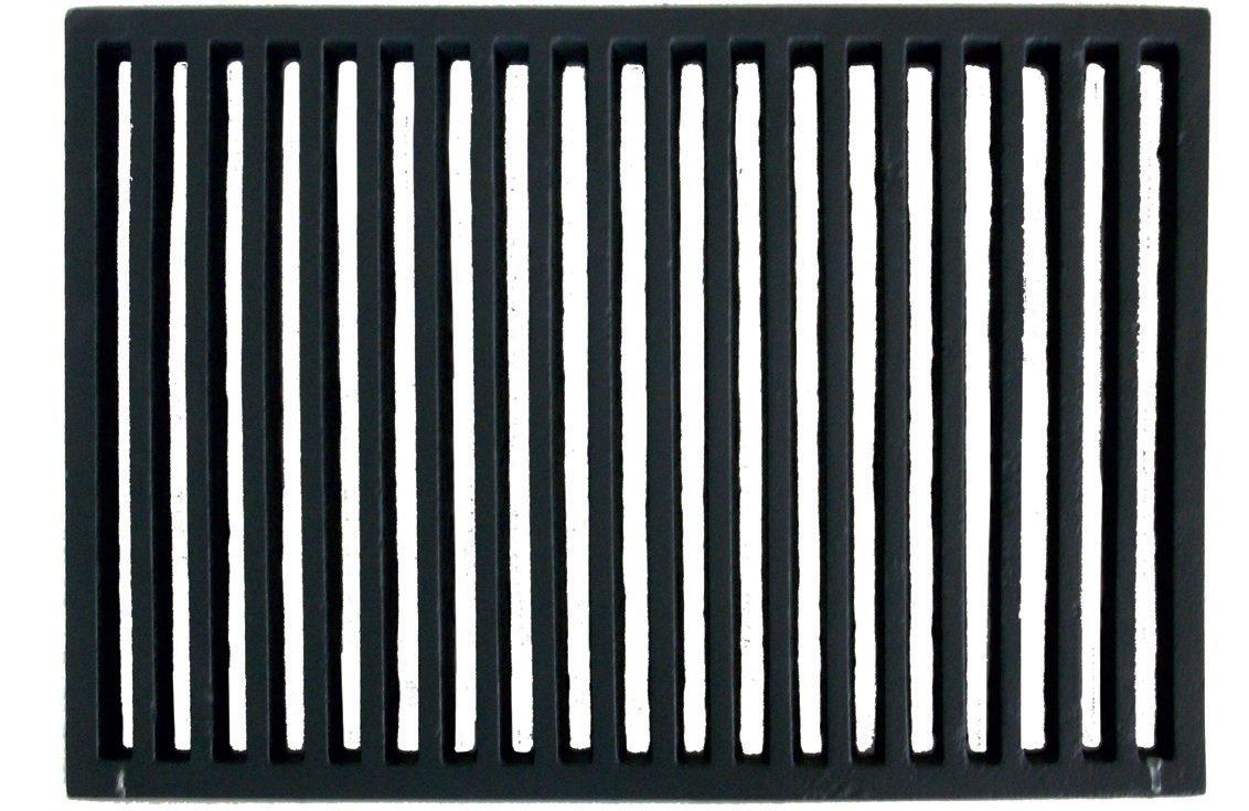 Griglia ghisa focolare ceneriera e stufa a legna cm 30x45 gricam450x300 - Radiatore per stufa a legna ...