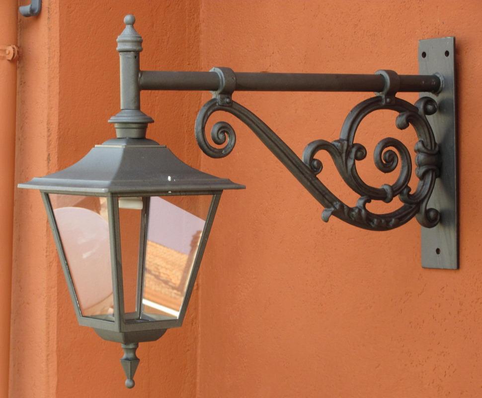 Mensola illuminazione cagliostro lanterna 1929 inferiore. 12229 12026